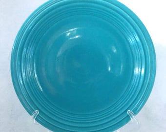 """Vintage Turquoise Fiestaware 9.5"""" Dinner Plate"""