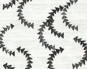 Judy Niemeyer fabric Reclaimed West Collection C2909 Cloud white black grey barb wire abstract Timeless Treas quilt sew 100% cotton per yard