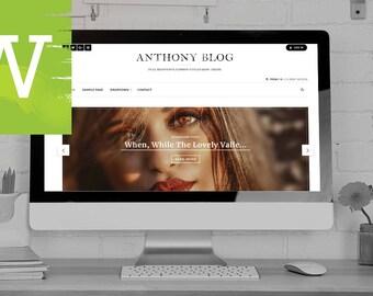 Fashion WordPress Blog Theme - WordPress Blog - WordPress Blog Theme - WordPress Theme - WordPress Blog Template - WordPress Template