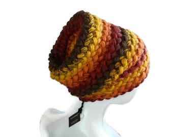 hat Knit yellow  gift for her Winter warm knit womens Clothing Gift Personalized gift Knit hat gift for girlfriend Warm wool cap