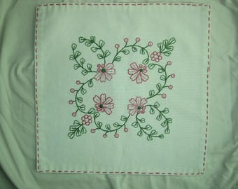 Handmade Embroidered Doily