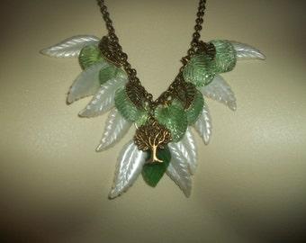 New Tree Of Life Bronze Charm Necklace