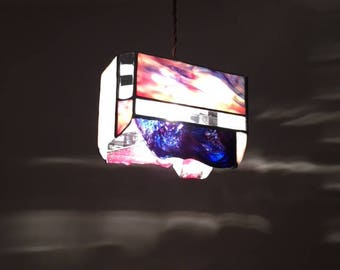 Pendant light sunset Sea color Glass Bay View