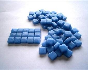 Micro Mosaic 8mm Tiles 100 pack Mosaic Heaven Micro Mosaic Tiles, Blue Waves C6 Tesserae, Tessera.