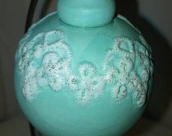 Lace Applique Ornament
