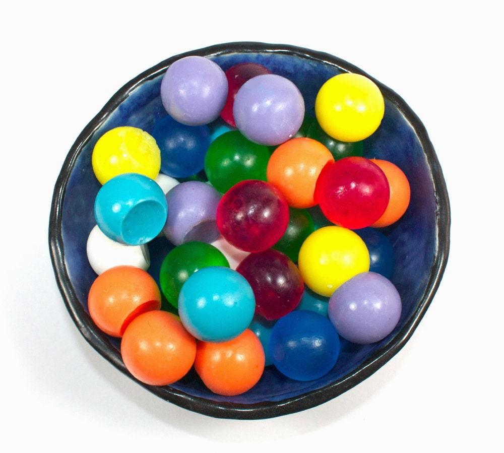 Decorative Soap Balls: Soap Spheres Set Of 27 Marbles Balls Circles Gumballs