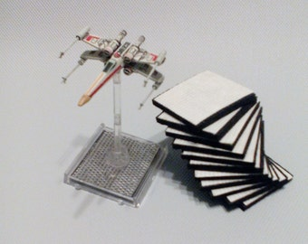 Small Ship Grips (8) for X-Wing Miniatures
