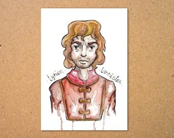 Original Tyrion Lannister Illustration