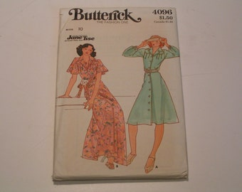 Vintage Butterick Pattern 4096 Jane Tise Miss Dress