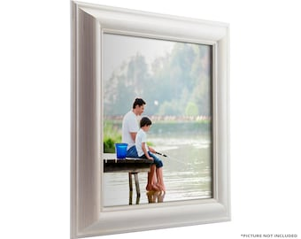 """Craig Frames, 10x13 Inch White Picture Frame, American Classic 1.75"""" Wide (773329001013)"""