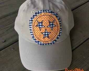 Tennessee Tri-Star cap - Tri-Star Applique cap
