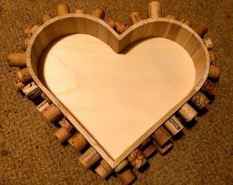 Corked Heart-Shaped Box
