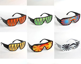 Rasslor Bachelor Party Shield Sunglasses - 12 Pack