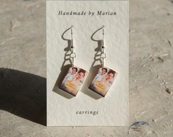 Sense and Sensibility book earrings Jane Austen