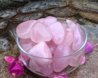 Tumbled Rose Quartz Crystal