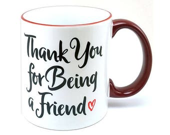 Golden Girl Thank you for Being a Friend mug (M817-MRN-rts)
