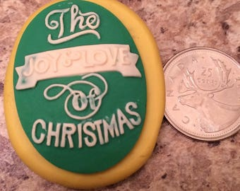 Joy of Christmas Mold silicone