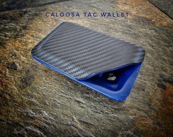 Kydex Wallet With Money Clip - Carbon Fiber Tac Wallet