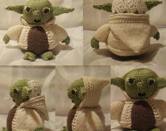 Yoda Knit Toy