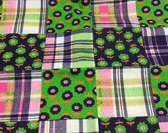SUPER CUTE Vibrant Denim Fabric!