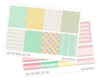 Spring Fresh Set Planner Stickers