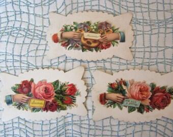 Vintage Victorian Calling Cards