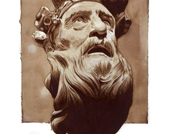 Greek Sculpture Print