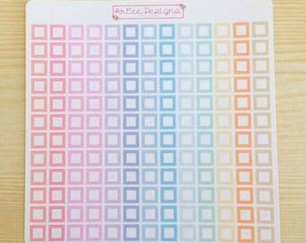 Planner Stickers: DIY Checklist for the Happy Planner, EC, Filofax, Kikki. K and more!