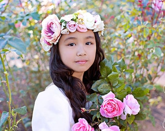 The Pink Princess Flower Halo