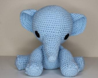 Amigurumi Pattern- Ellie the Elephant Crochet Pattern