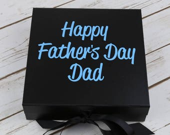 Fathers Day Gift Box - Dads Gift - Fathers Day Gift - Daddy Gift - Dads Gift Box - Empty Fathers Day Gift Box - Gifts for Dad - Gift for Dad