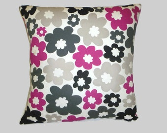 "Pillow Color choices Fuschia Pink Designer Cushion Cover Throw Scatter Pillow. ONE x 16"" (40cm)"