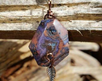 Sale~ Crazy Lace Jasper necklace ~ Positive energy ~ Laughter