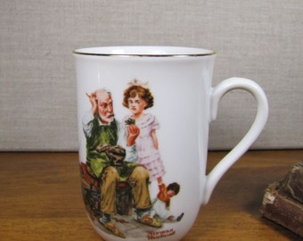 Norman Rockwell - The Cobbler - Coffee/Tea Cup