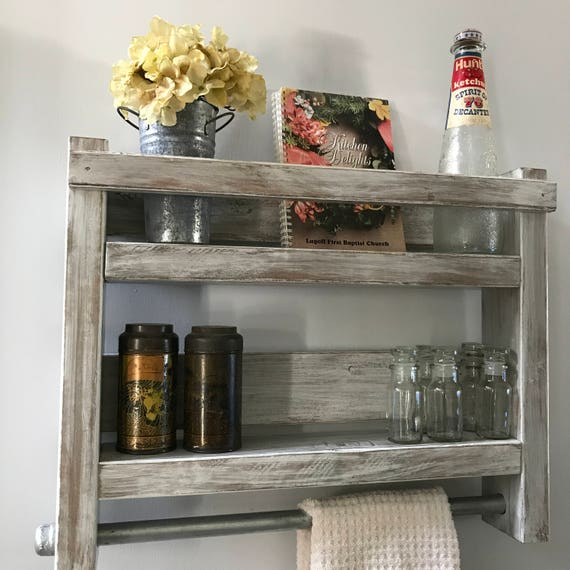 Kitchen Storage, Kitchen Storage Shelves, Kitchen Shelf, Storage For Kitchen, Rustic Kitchen Storage, Kitchen Shelf Decor, Farmhouse Kitchen