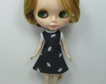 Outfit costume dress for Blythe doll 790-54