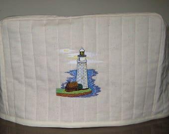 2 Slice Toaster Cover Lighthouse Design