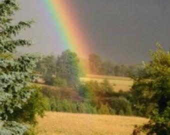 Rainbow photo.