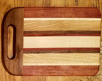 Large wooden cutting board 18x14