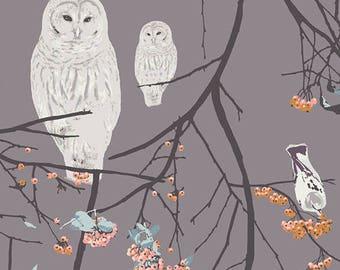 1/2 yard Art Gallery Blithe Bird Songs in Sun 85606 designed by Katarina Roccella