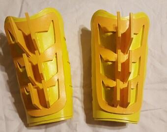 Batman Batwoman cosplay armor gauntlets
