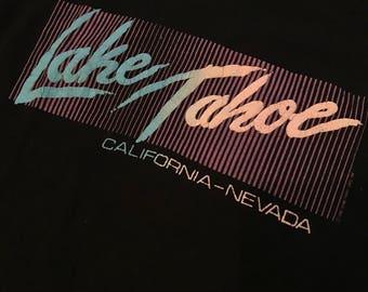 Vintage lake Tahoe shirt