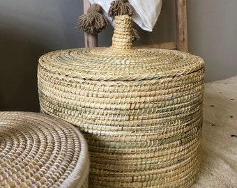 Moroccan basket  Naturel small