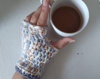 Crochet Fingerless Gloves, Hand Warmers Warm, Crochet Gloves, Fingerless Gloves, Texting Gloves, Boho Gloves, Mittens, Boho Fashion