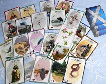Highlander Lenormand Oracle 36 Cards by Lynn Boyle. Brand New. Self Published.