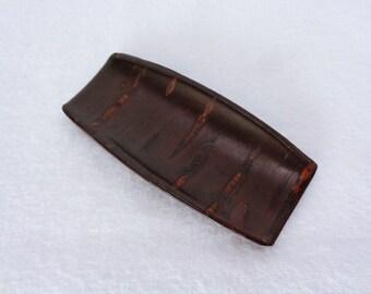 1656 Sami Tea Scoop,Kabazaiku Sami(Tea Scoop),Japanese Cherry Bark Kabazaiku wooden tea leaves scoop,Handcrafted in Japan