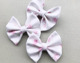 Vintage pink blossom harper bow