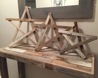Reclaimed Wood stars