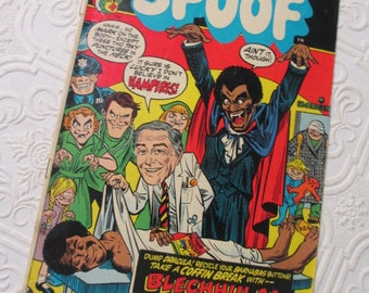 The Lunatic Side of Life SPOOF - Vintage Comic Book 1973