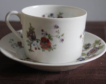Vintage Haviland Limoges Tea Cup and Saucer